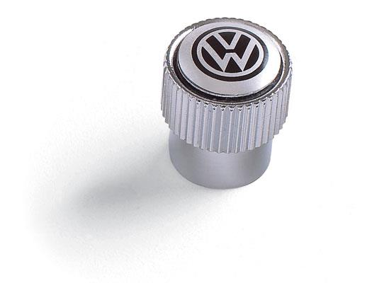 Diagram Valve Stem Caps - Black on Silver (ZVW355005A) for your 2008 Volkswagen Rabbit